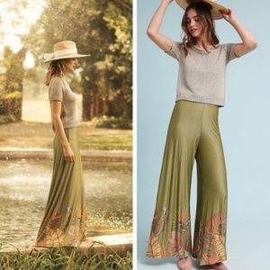 Anthropologie Farm Rio Guadalupe Wide Leg Pants